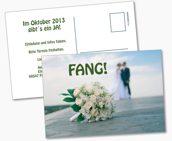 Save the Date Glück